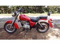 Sinnis Vista (Qingqi) QM125-2c 125cc Motorcycle , Unfinished project, needs an MOT