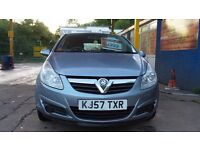 VAUXHALL CORSA ACTIVE 2006 PLATE 16V 1.2 DIESEL IN SILVER 12 MONTHS MOT £1495 ALSO WARRANTY