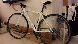 Carrera Zelos road bike, 47cm frame, immaculate condition, hardly used.