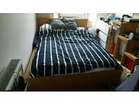 Ikea Milan double bed frame
