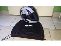 Hjc helmet in good condition size midium 56 58cm can deliver or post!
