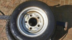 ifor williams wheel whell and tyre 1555 - 70 - 12