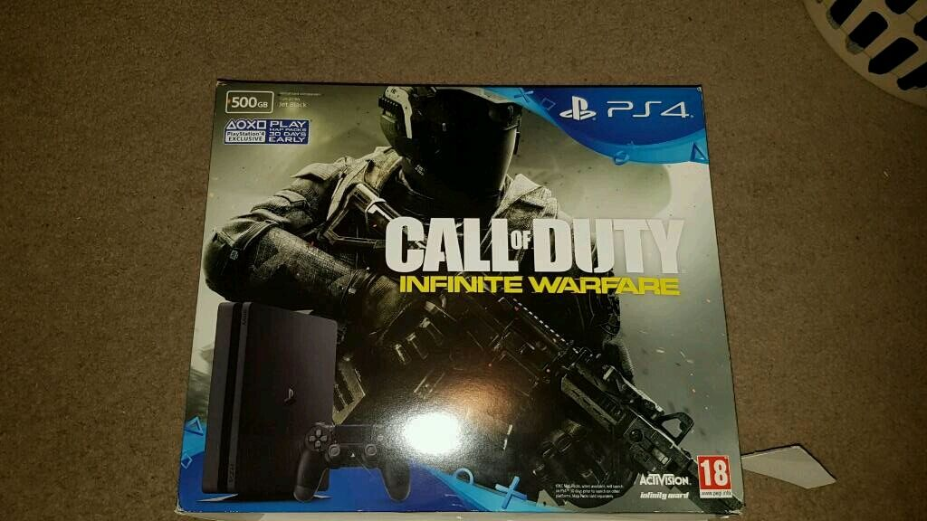 Sony ps4 brand new never been used 500 gb call duty