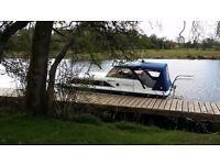 6 berth fairline mirage 29 family motor boat cruiser (may consider part exchange for caravan
