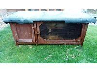 2 Rabbit hutches for sale