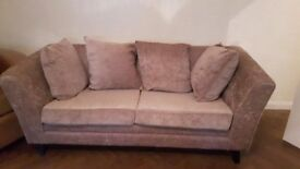 Beautiful fabric sofa £20 MUST GO TODAY!