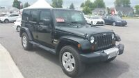 2012 Jeep WRANGLER UNLIMITED SAHARA WITH HARD AND SOFT TOPS