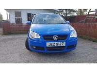 Sept 2006 VW Polo 1.2. Five door. MOT May 2018. Immaculate Condition. 82k miles.