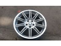 THE HOLY BMW MV4 REAR 9J ALLOY WHEEL ***3 MONTH GUARANTEE*** CRACK WELD FREE SPARE RARE