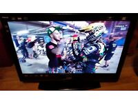 "32"" toshiba lcd tv hdmi,scart,build in freeview (dtv) in v.good cond. w/remote"