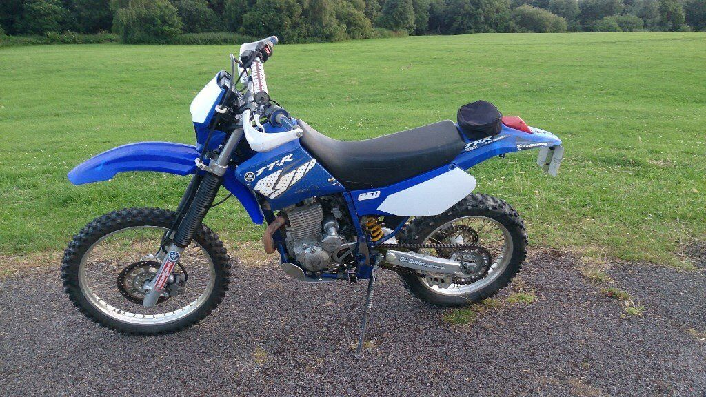 Yamaha ttr250 2002 trail enduro off road ttr 250 in for Yamaha ttr 250