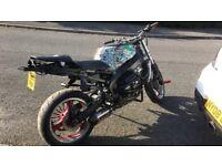 2001 Kawasaki Ninja ZX6R Stunt Bike