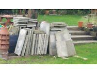 Free paving stone slabs