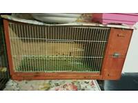 breeding cage with built in nest box