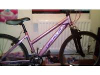 Pink land rover 24inch bike for sale £50