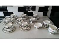 Duchess bone china 28 pieces tea set