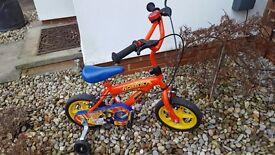 Boys Bicycle Fireman Sam