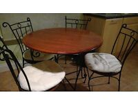 Dining/Kitchen Tables & 4 Chairs (free cushions included)