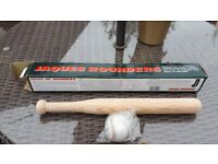 Rounders Bat & Ball - Never Used Still Boxed