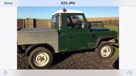 Ladrover Defender 90 Td5, Second owner, ex fleet. All motorway miles, no expensive spared in up keep