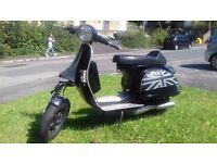 Vespa PX 125cc, Street Racer style, Engine Kit, Excellent runner, Must be seen.