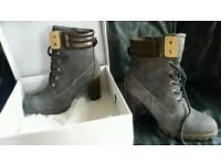 Ladies boots, shoes,
