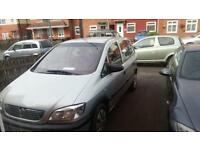 Vauxhall Zafira 2002