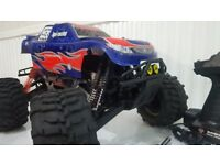 Nitro rc car hpi savage 3.5 engine
