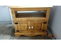 upcycled wooden tv cabinet