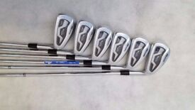 MIZUNO MX-1000 Hot Metal True Temper GS95 R300 Steel Shaft Set of 6 Brand New