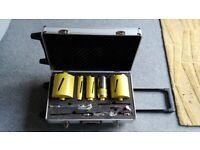 11pc Diamond Core Drill Set