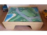 Kids Play Table with reversible top and storage