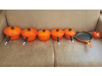 Le Creuset Volcanic Orange Cast Iron