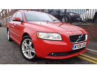 2008 Volvo S40 2.0 SE 4dr Saloon, MOT TILL NOVEMBER 2017 , £2,795 p/x welcome