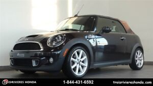 2013 MINI Cooper Convertible S mags cuir