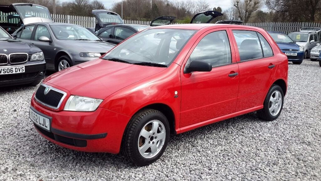 skoda fabia 2002 red manual hatchback 1397cc mot 29 january 2017 in hunslet west. Black Bedroom Furniture Sets. Home Design Ideas