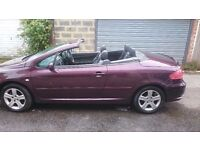 Peugeot 307 CC RARE! CHEAPEST ONLINE WITH SATNAV AND PHONE!