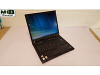 "IBM Thinkpad T60 Laptop. Windows 7. Wireless. MS office. 15"" Screen"