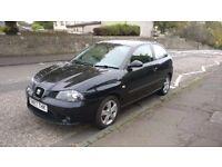 3 door 1.2l black Seat Ibiza - Great value car - genuine reason for sale