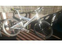 Retro 90s gary fisher jougsua full suspension mountain bike