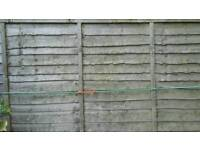 2x fence panels 6ft never been used