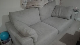 Two Seaters Next Sofa - Duck Feather Pillows
