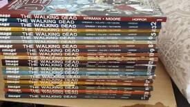 Walking dead comic 1-22