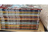 Walking dead comic 1-22