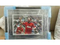 juan mata signed picture authenticated