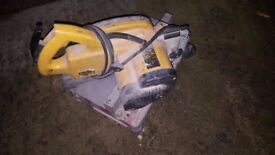 LARGE DEWALT CIRCULAR SAW WITH NEW BLADE!!!