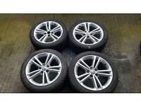 "Vauxhall Insignia Alloy Wheels Upgraded 18"""
