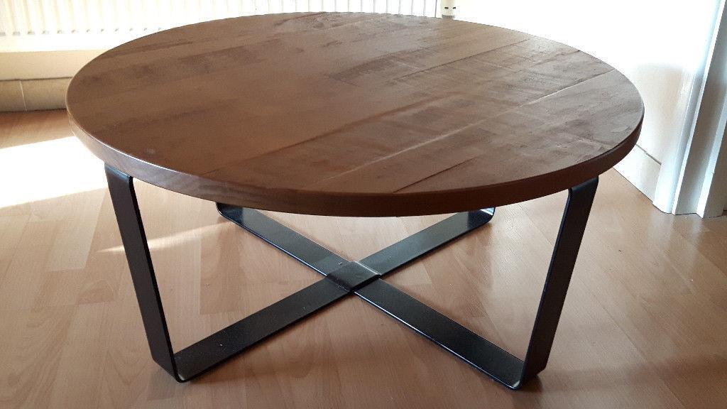 Next Kendall Coffee Table Metal Legs Oak Top In Exeter Devon - Kendall coffee table