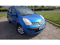 NISSAN NOTE 1386CC CHEAP INSURANCE LOW TAX 5 DOORS STATE WILL GO WITH FULL MOT