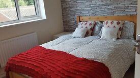 Double Rooms newly refurbished near Alexandra Hospital, Redditch